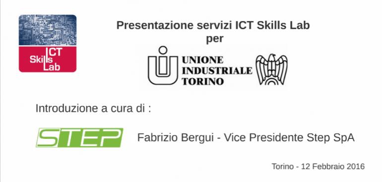 presentazione servizi ict skills lab