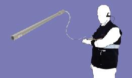 operatore con camera endoscopica